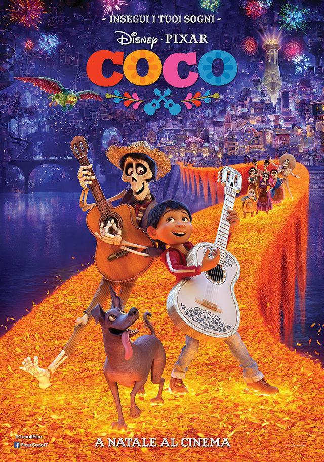 La locandina di Coco