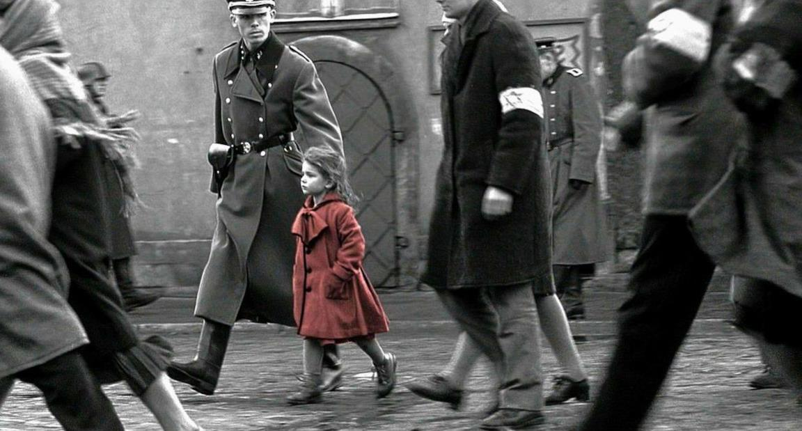 Scena tratta da Schindler's List