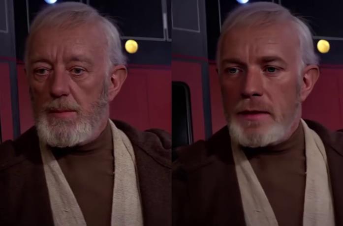 Un'immagine di Ewan McGregor come Obi-Wan Kenobi