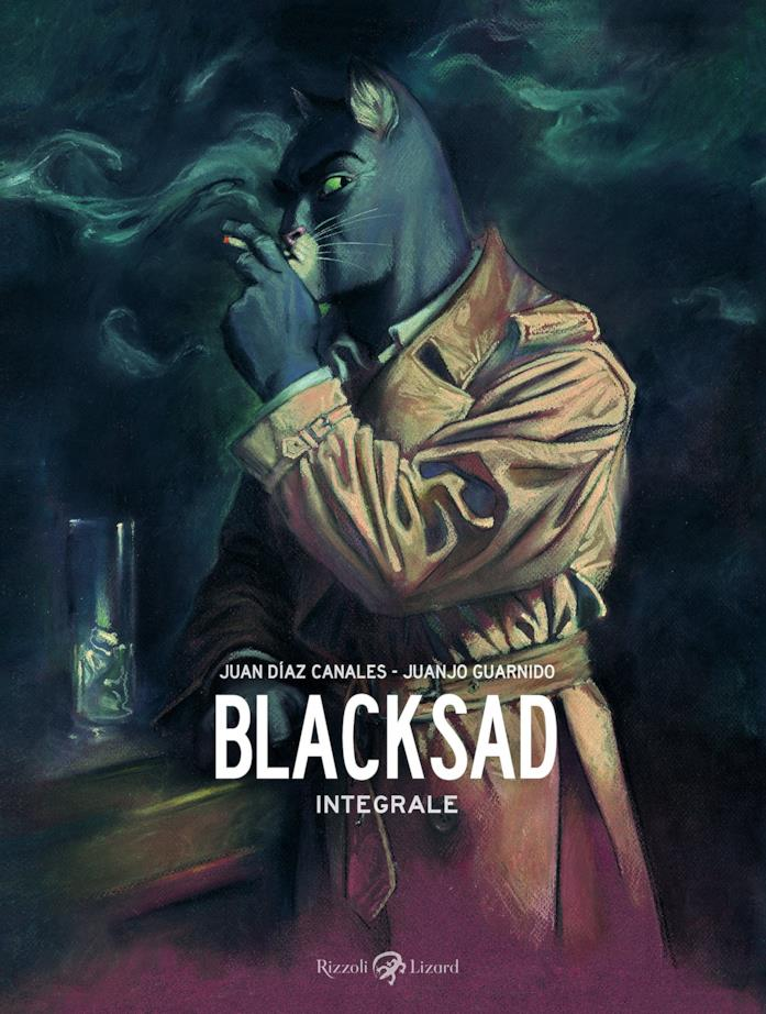 La cover di Blacksad – L'integrale