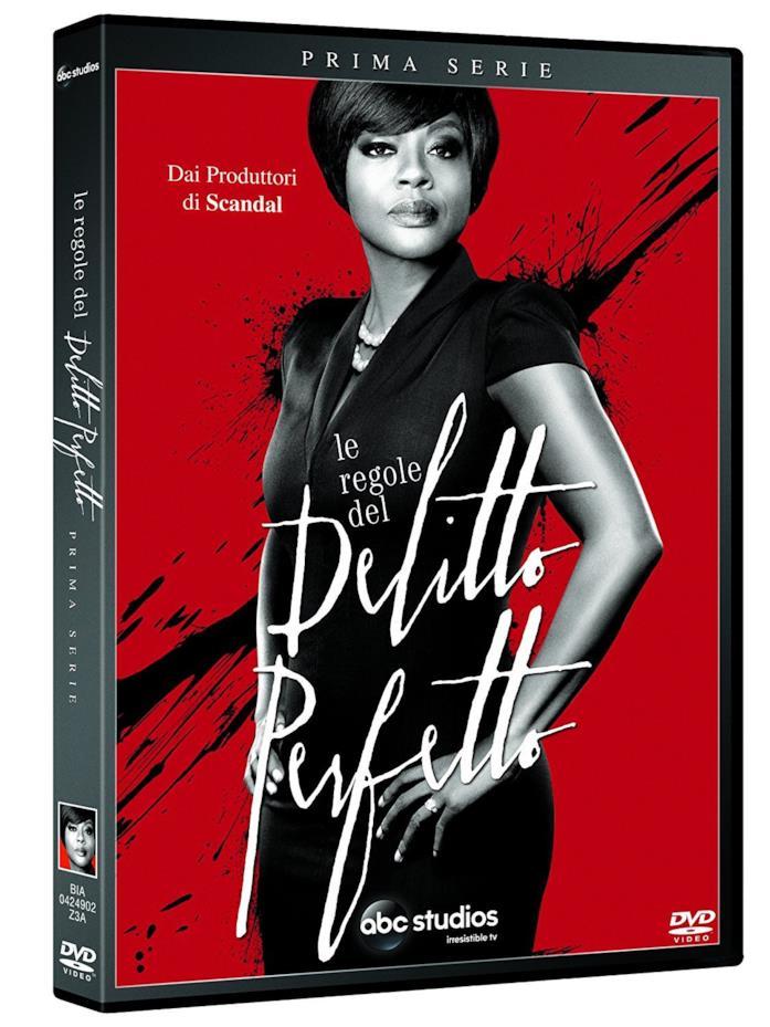 Viola Davis nella copertina del cofanetto DVD de Le regole del delitto perfetto