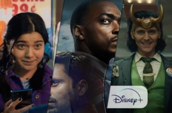 Da sinistra: Ms. Marvel, The Falcon and the Winter Soldier e Loki
