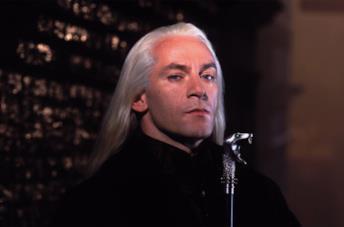 Jason Isaacs è Lucius Malfoy