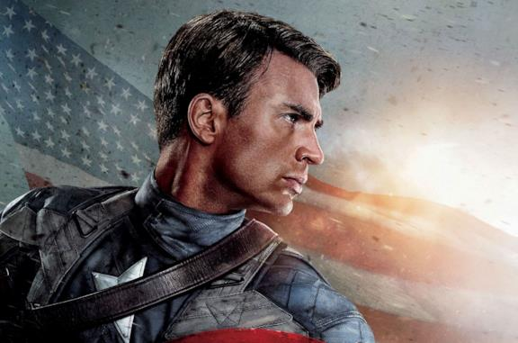 Chris Evans è Steve Rogers nel film