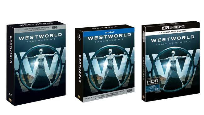 Westworld - Home video stagione 1