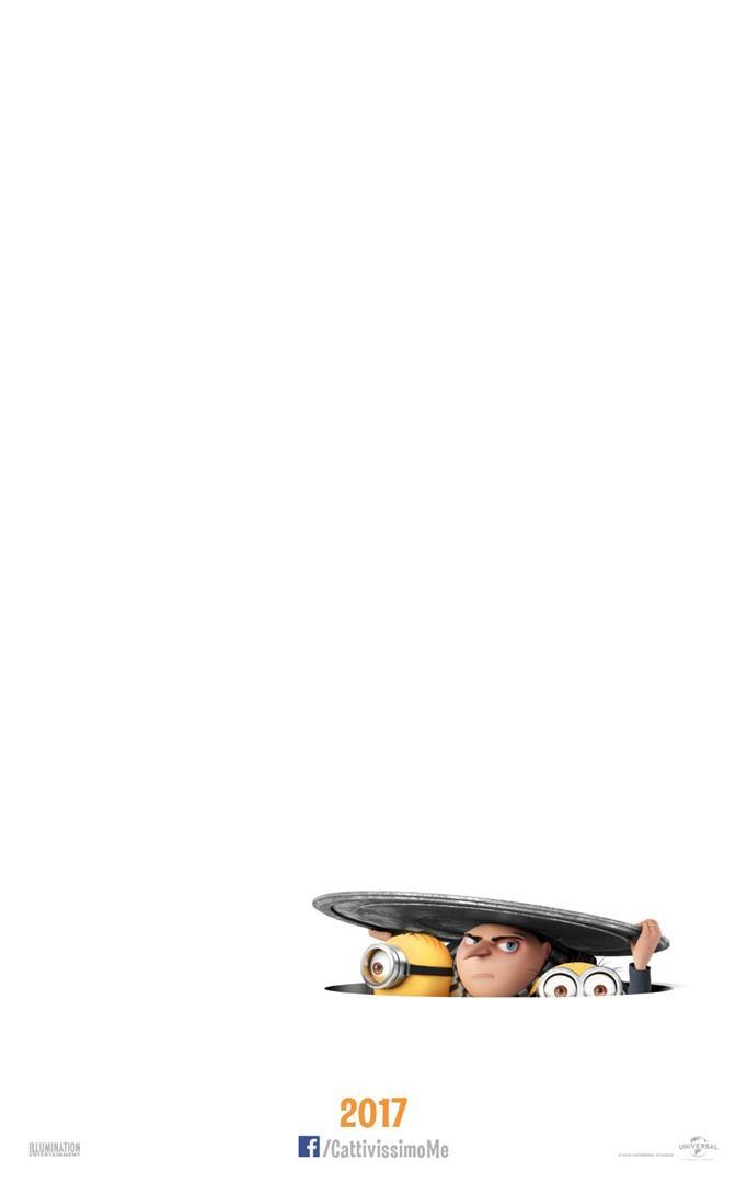 Il teaser poster italiano di Cattivissimo Me 3
