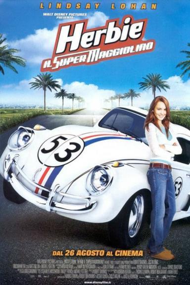 Poster Herbie - Il super maggiolino