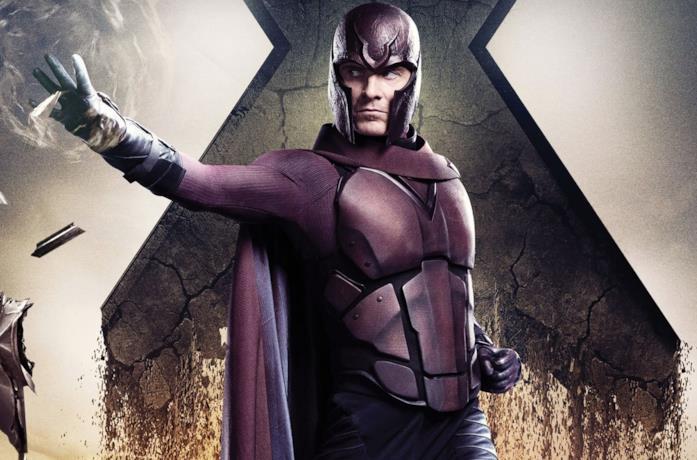 Un'immagine di Michael Fassbender come Magneto