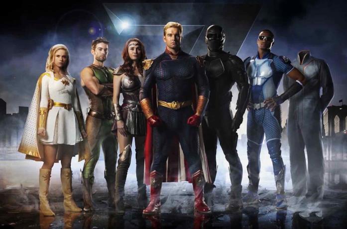 I Super della squadra dei Sette di The Boys