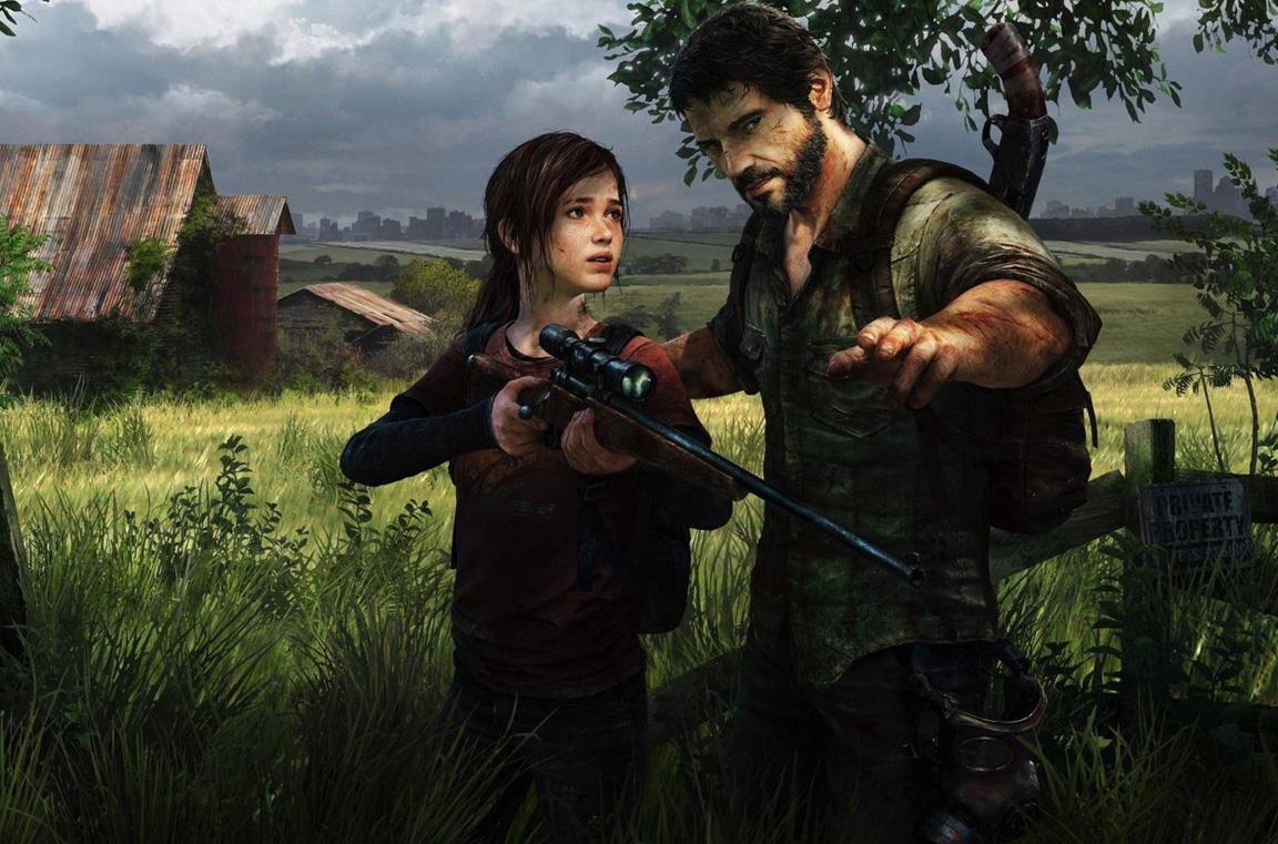 Ellie e Joel in un artwork di The Last of Us