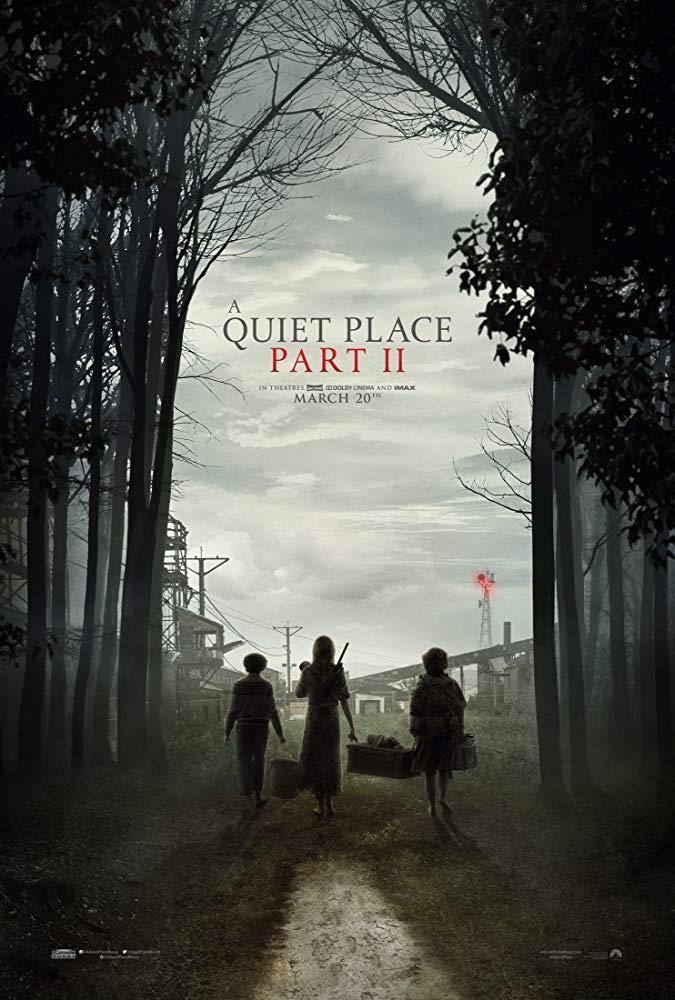 Il poster di A Quiet Place 2