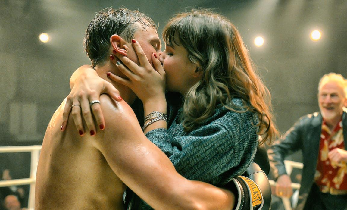 Il bacio sul ring tra Isi & Ossi