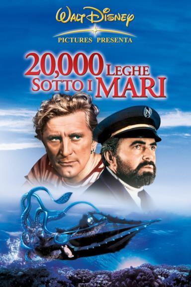 Poster 20.000 leghe sotto i mari