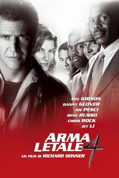 Poster Arma letale 4