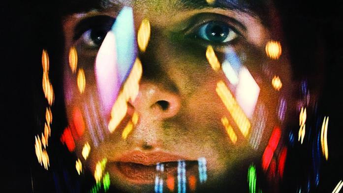 Una scena del film 2001: Odissea nello Spazio
