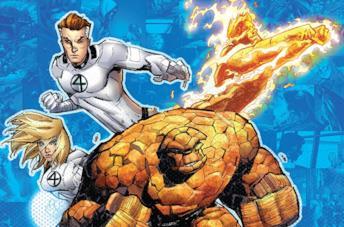 Dettaglio della cover di Fantastic Four By Jonathan Hickman Vol. 6