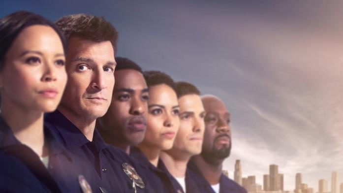 Nathan Fillion è il protagonista della serie The Rookie
