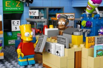 I Simpson: il Jet Market in salsa Lego