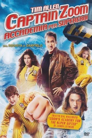 Poster Captain Zoom - Accademia per supereroi