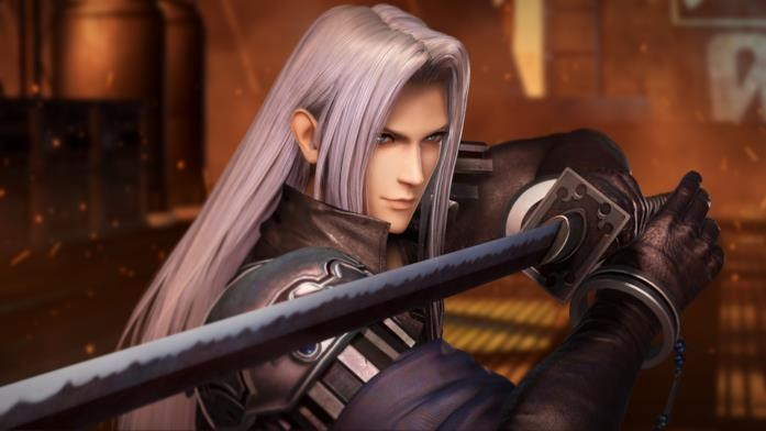Sephiroth in Dissidia Final Fantasy NT