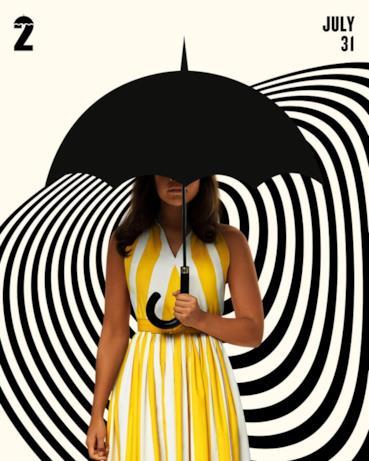 Il character poster di Umbrella Academy 2 con Alison