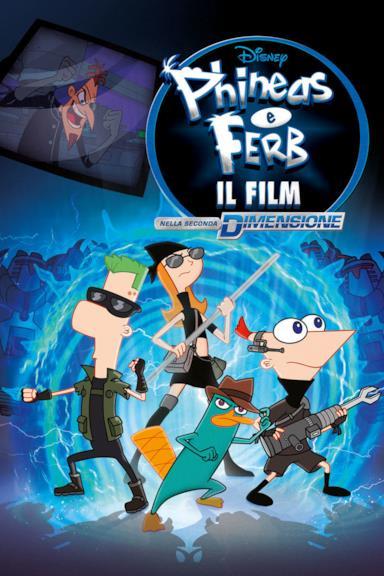 Poster Phineas e Ferb il Film - Nella Seconda Dimensione