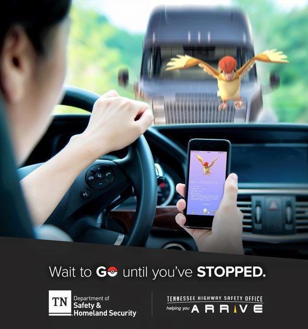 Bisogna fare attenzione quando si gioca a Pokémon GO