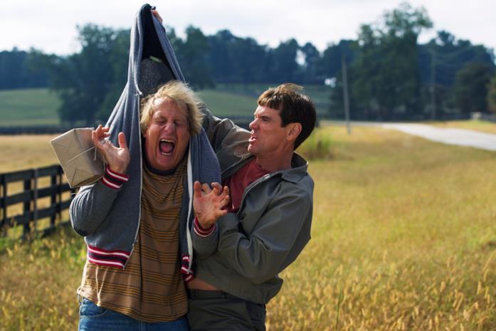 Jeff Daniels e Jim Carrey in Dumb and Dumber To