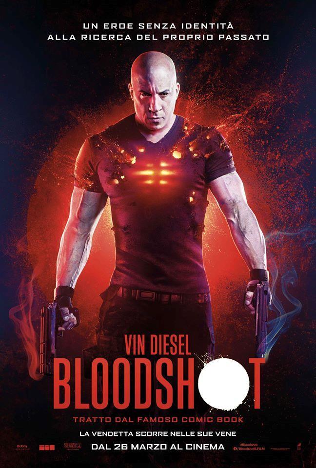 Il poster italiano del film Bloodshot