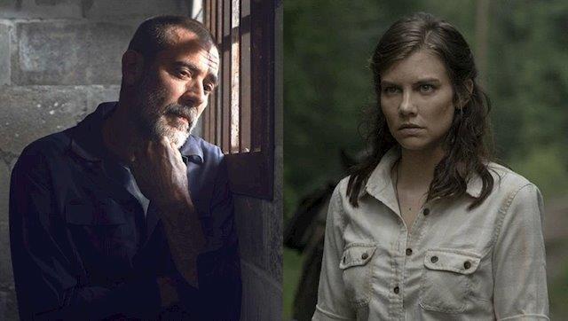 Negan e Maggie di The Walking Dead