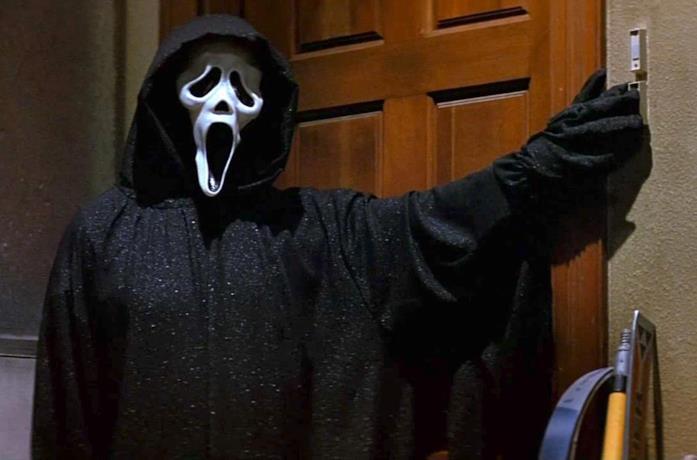 Ghostface, l'assassino mascherato di Scream