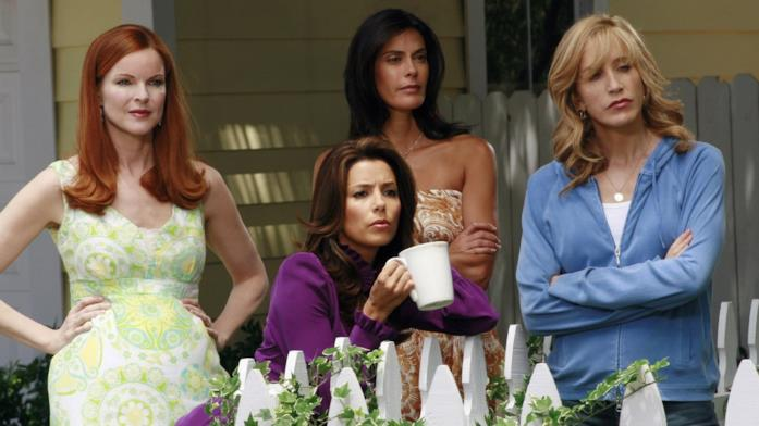 Il cast in Desperate Housewives