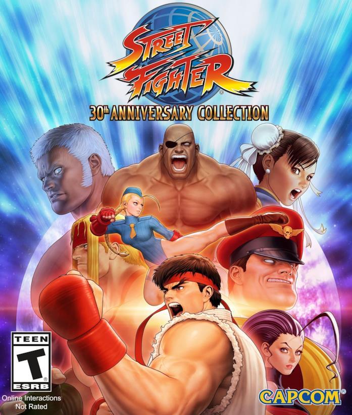 Street Fighter 30th Anniversary Collection per console e PC