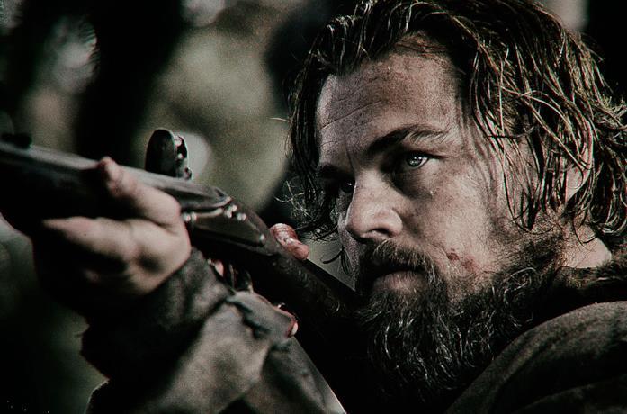 Leonardo DiCaprio in una scena di Revenant