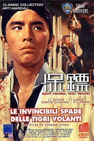 Poster Le invincibili spade delle tigri volanti