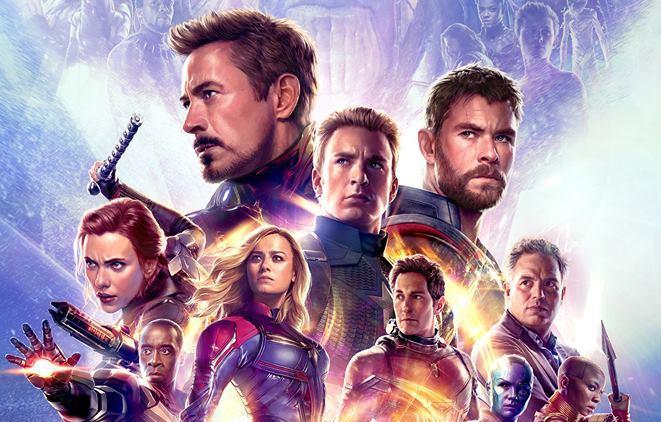 Poster IMAX di Avengers: Endgame