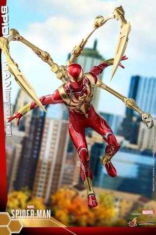 Iron Spider in posa