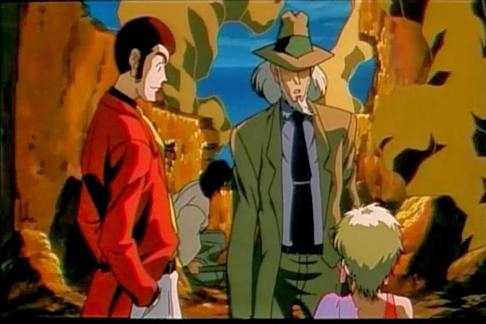 Lupin e Jigen in Trappola Mortale