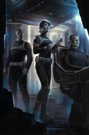 Maria Hill in una postazione dello S.H.I.E.L.D.