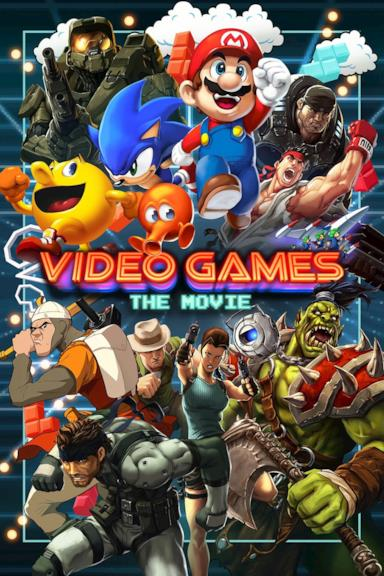 Poster Video Games: The Movie
