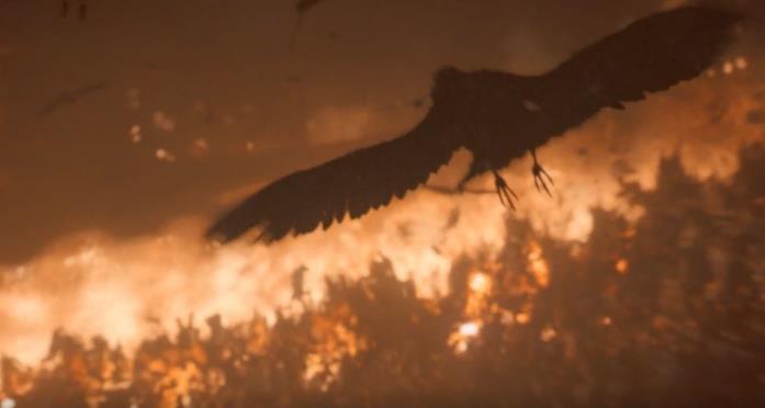 Bran usa il suo potere nella Battaglia di Winterfell