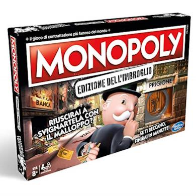 Monopoly - Monopoly Edizione dell'Imbroglio, E1871103