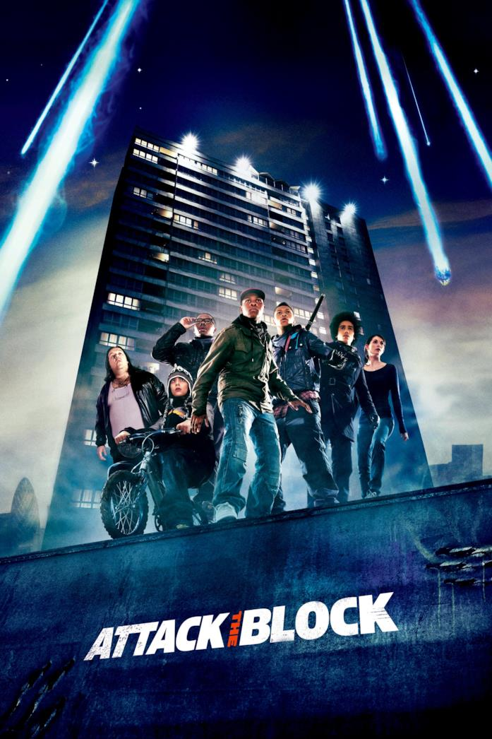 Attack the Block: poster