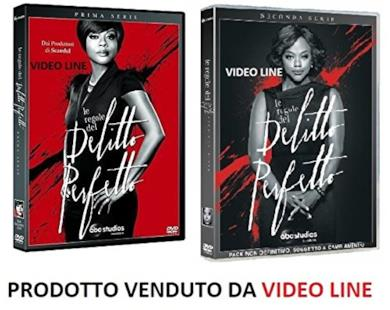 Cofanetto DVD de Le Regole Del Delitto Perfetto - Stagioni 1-2