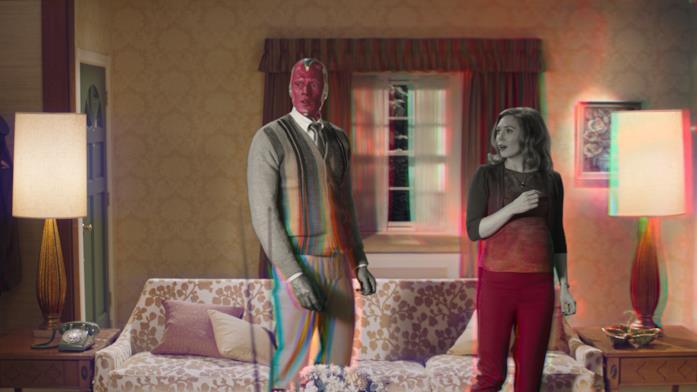 """La realtà """"televisiva"""" intorno a Wanda e Visione si altera"""