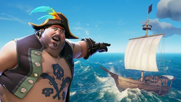Sea of Thieves è disponibile sulle piattaforme Microsoft