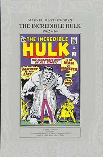 Marvel Masterworks: The Incredible Hulk 1962-64 UK ED