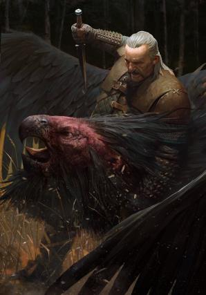 Vesemir è il witcher più anziano a Kaer Morhen