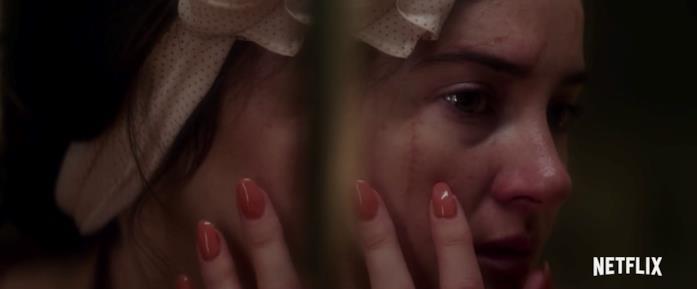 Shailene Woodley in una scena dal trailer de L'ultima lettera d'amore