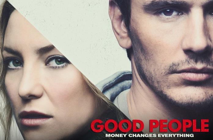 Kate Hudson e James Franco nel poster di Good People